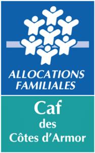 Logo de la Caisse d'Allocations Familiales (CAF) des Côtes d'Armor (22)