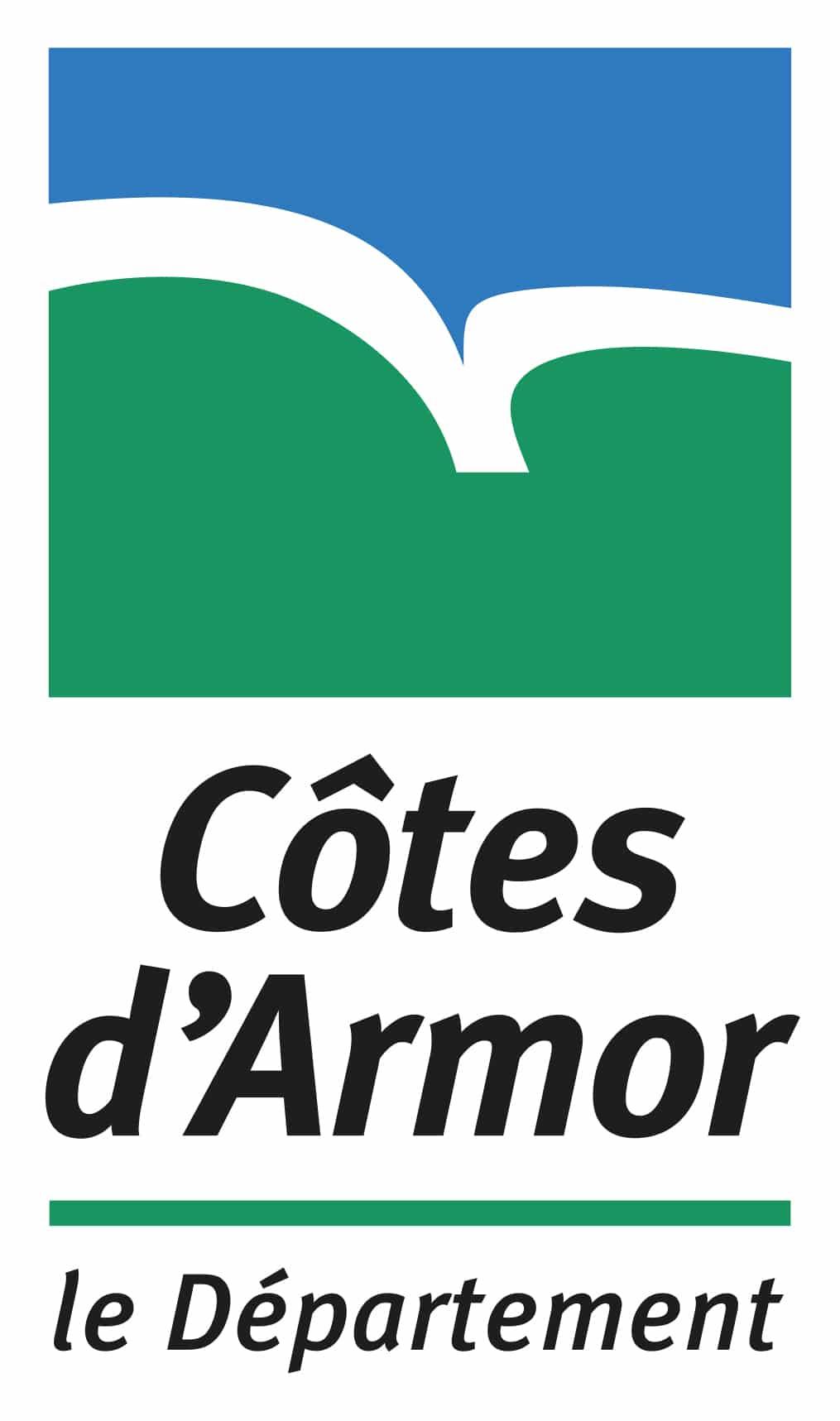 Logo du Conseil Départemental des Côtes d'Armor (22)